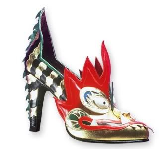 27a886baeee Thea Cadabra. Dragon Shoe