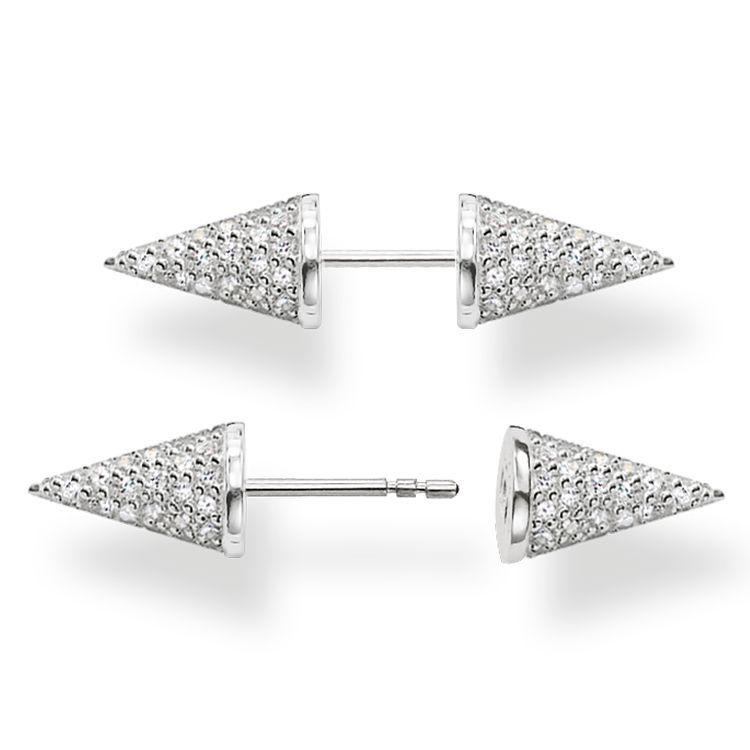 THOMAS SABO Women  Silver    Stud Earrings