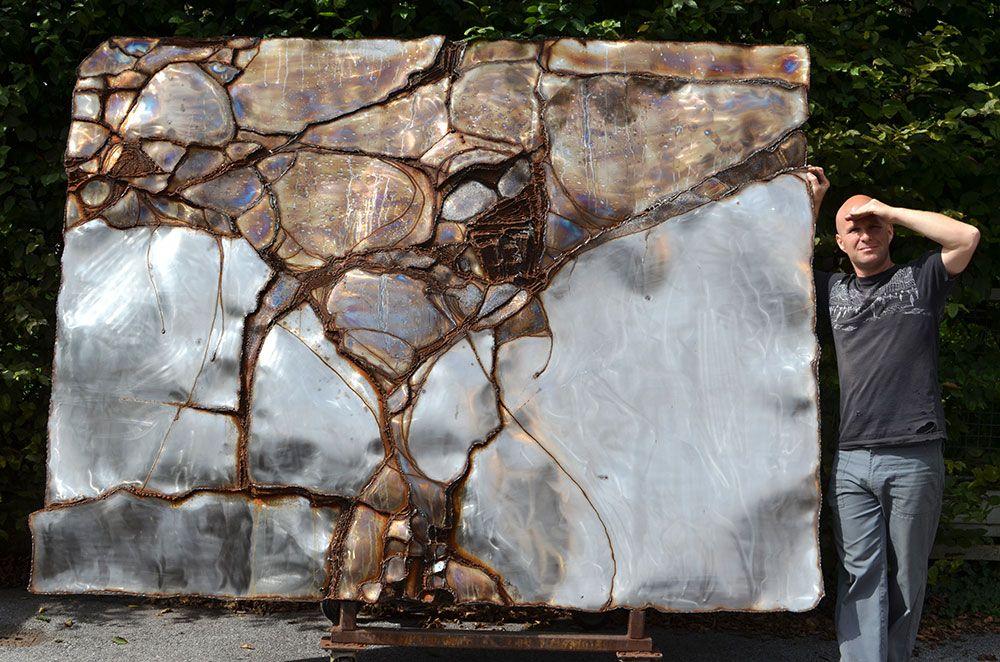 Gahr Wall Sculpture For A Living Room Welded Art For Sale Metalart By Gahr Welding Art Art Metal Artwork #wall #sculptures #for #living #room