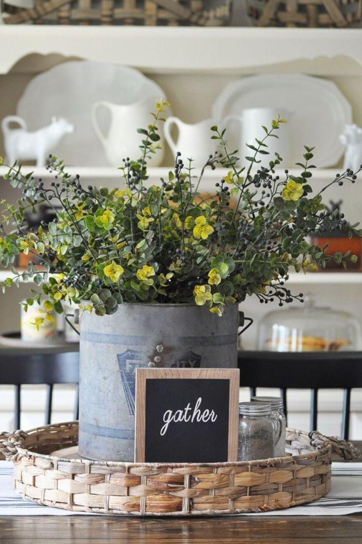 Beautiful spring farmhouse decor ideas farmhouse style vignettes