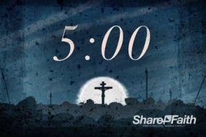 five minute countdown