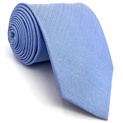 Shlax/&Wing Solid Color Burgundy Purple Ties For Men Silk Necktie Set Business Wedding