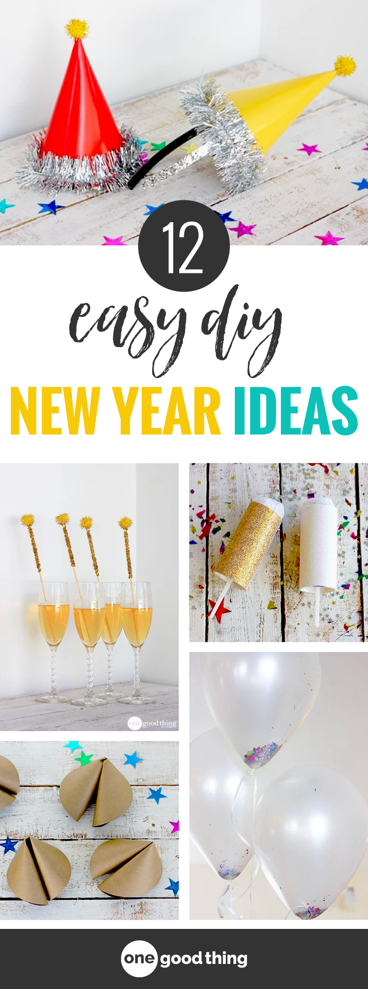 DIY New Year\'s Eve Party Ideas | new years eve | Pinterest ...
