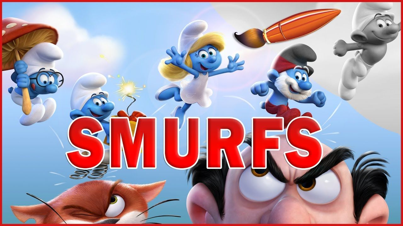 Smurfs Lost Village -- Kids Coloring Book | Coloring Pages for ...