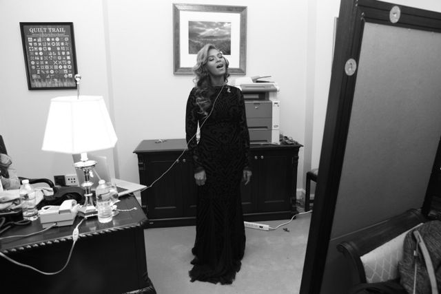 Beyoncé | I Am #beyonce rehearsing the Star Spangled Banner for #Obamas inauguration