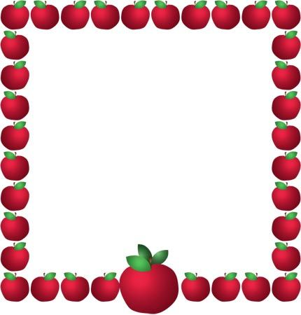 apples borders frames bulletin board pinterest apples clip rh pinterest ie