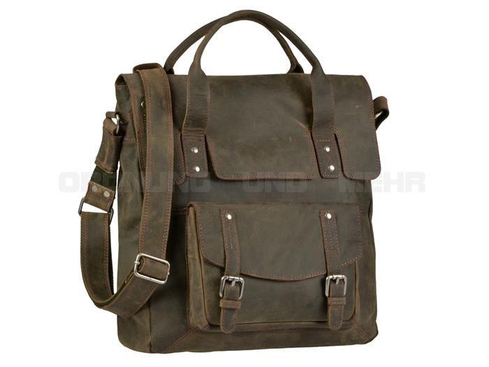 Billy the Kid White Spirit Umhängetasche Tasche Handtasche Bürotasche braun