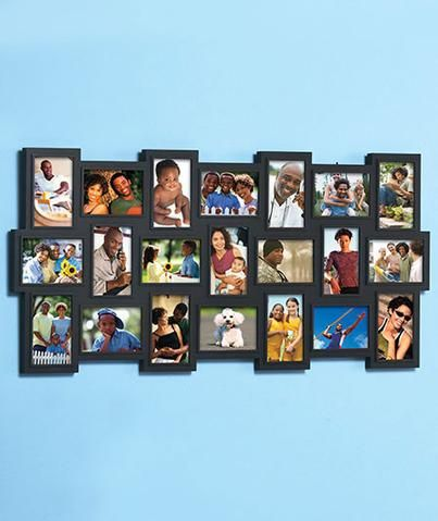 Collage Frame Large Photo 21 4x 6 Pics Over 3 Feet Tall Vertical