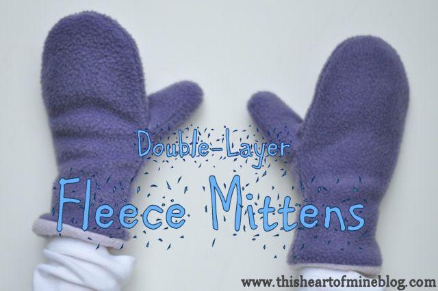 Fleece Mittens | Pinterest | Mittens, Layering and Patterns