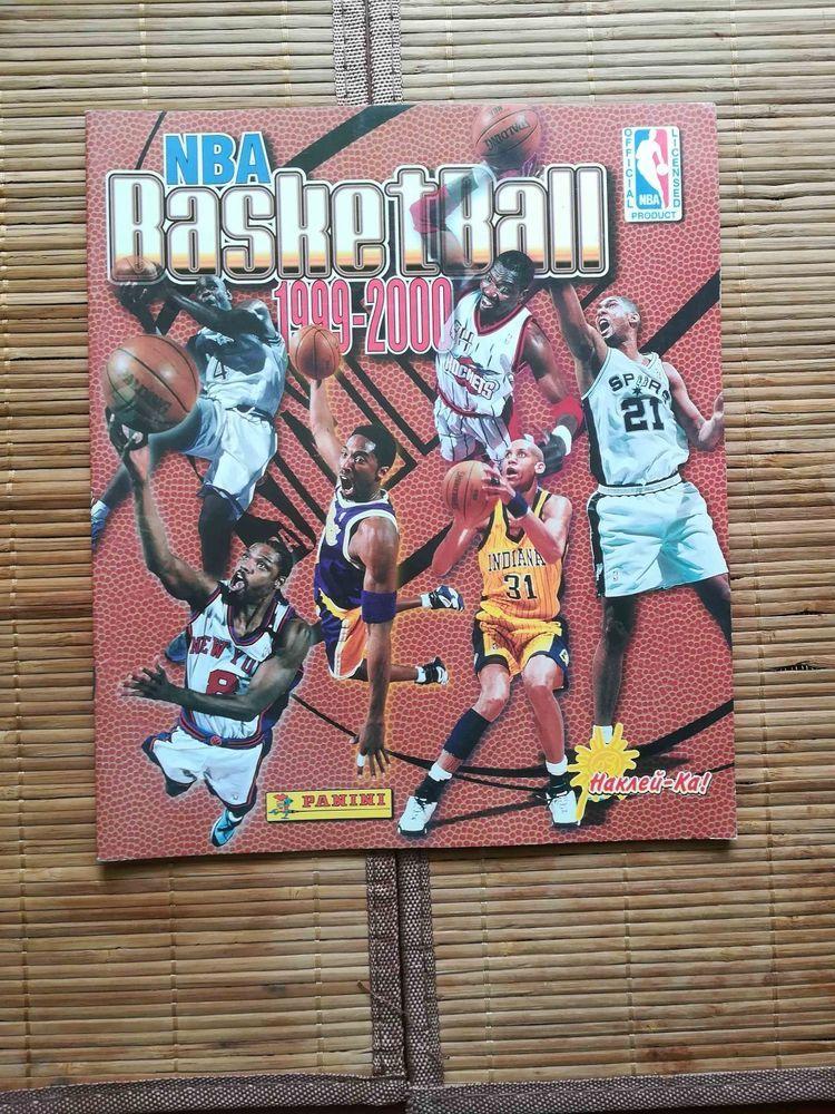 NBA Basketball Panini 1999 2000 empy sticker album RARE