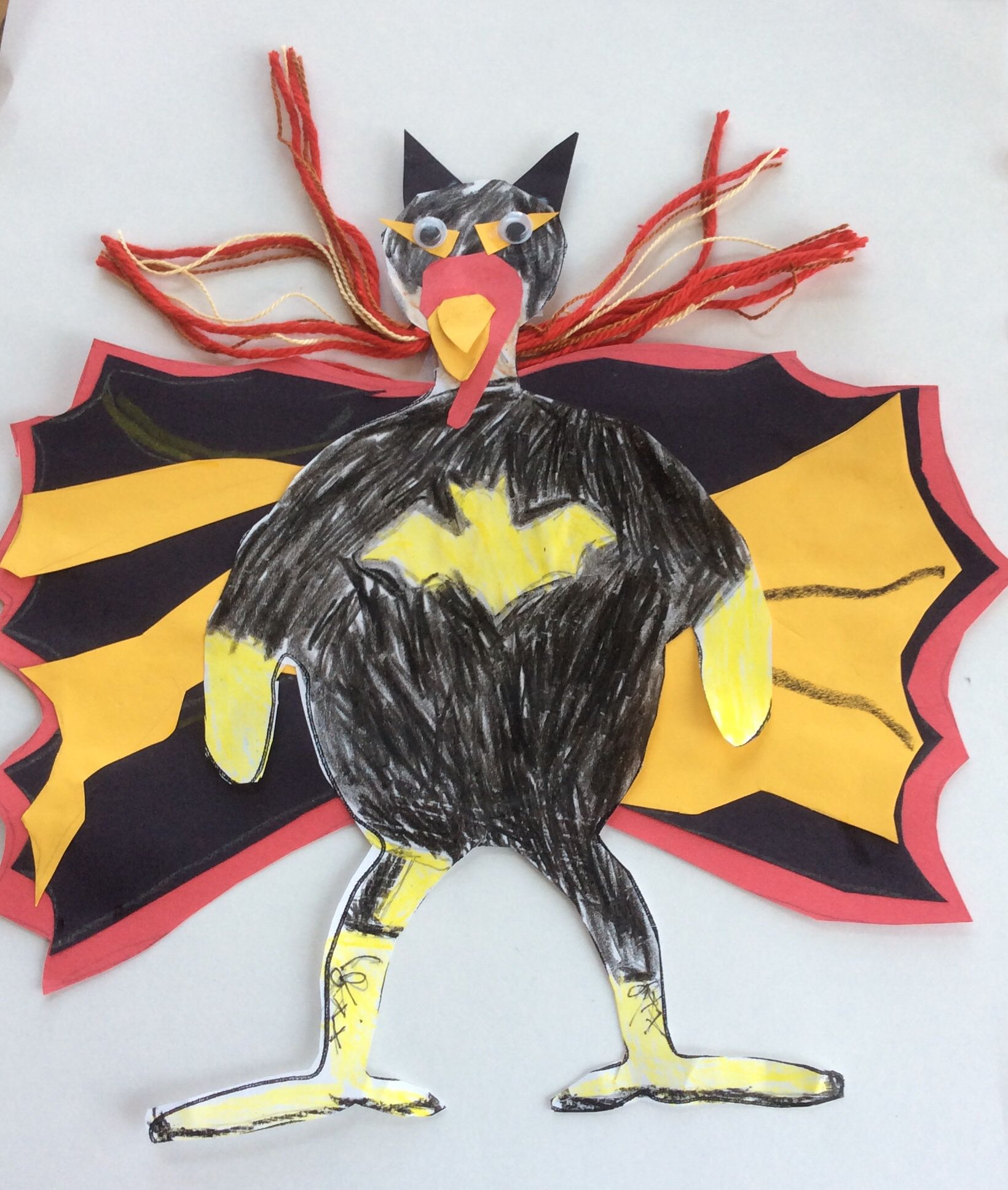 Bat Girl  Disguised Turkey