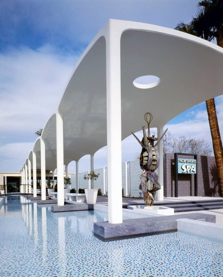 Vintage Palm Springs Spa Resort | Spa entry | Vintage Palm Springs ...