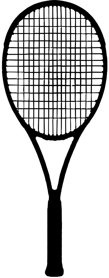 Tennis racket png transparent google search objects - Dessin raquette ...