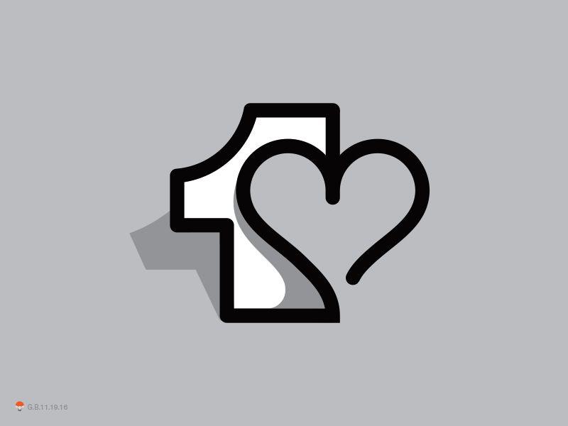 One Love Love Logo First Love Logo Inspiration