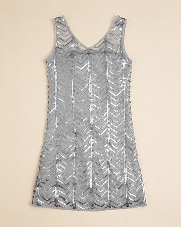 Sally Miller Girls' Gatsby Sequin Dress - Sizes S-XL | Bloomingdale's #sallymiller
