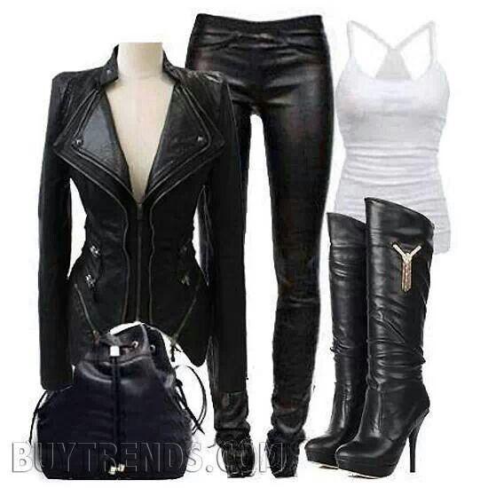 ropa moto chica