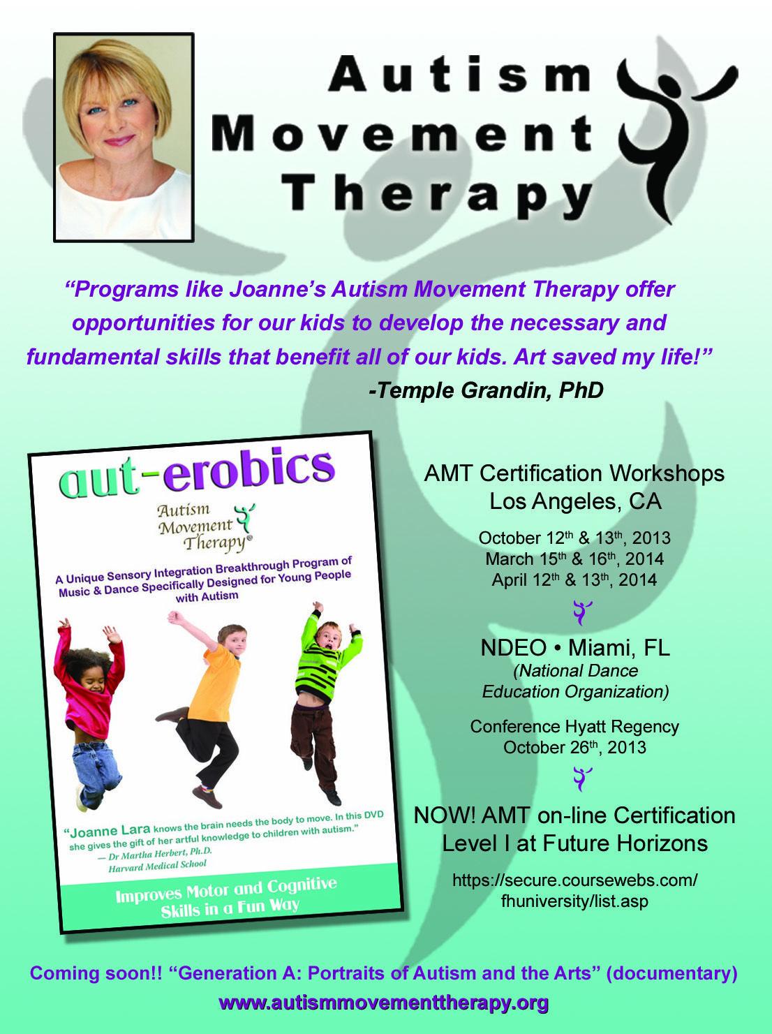 AMT Certification workshop dates LA, Ca National Dance Education ...