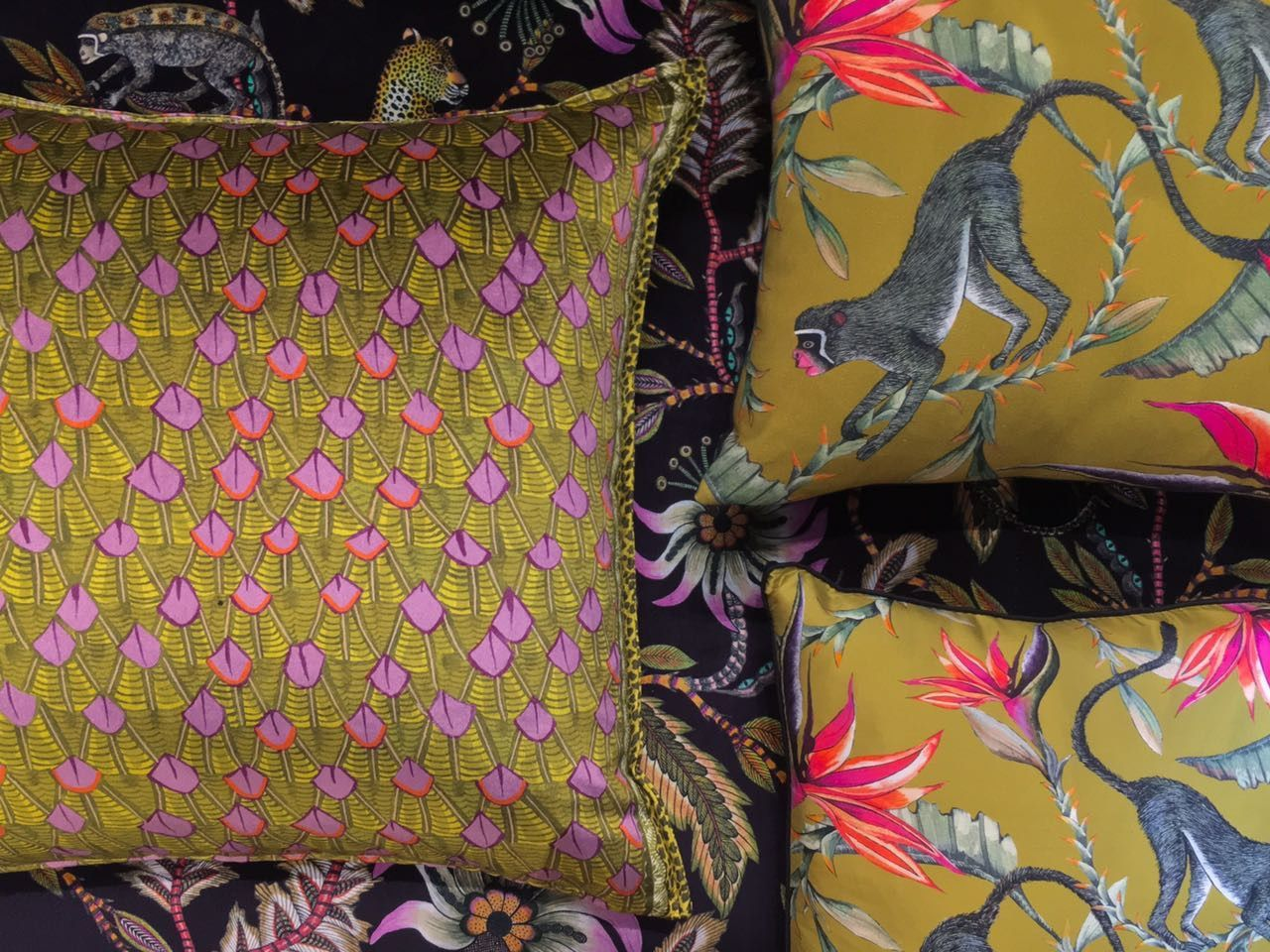 Ardmore Design Scatter Cushions For more, head on over to our webstore - www.Ardmore-Design.com   #design #interiordesign #fabricdesign #decor #homedecor #africanluxury