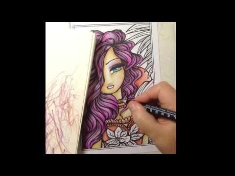 Hannah Lynns Pocket Coloring Book