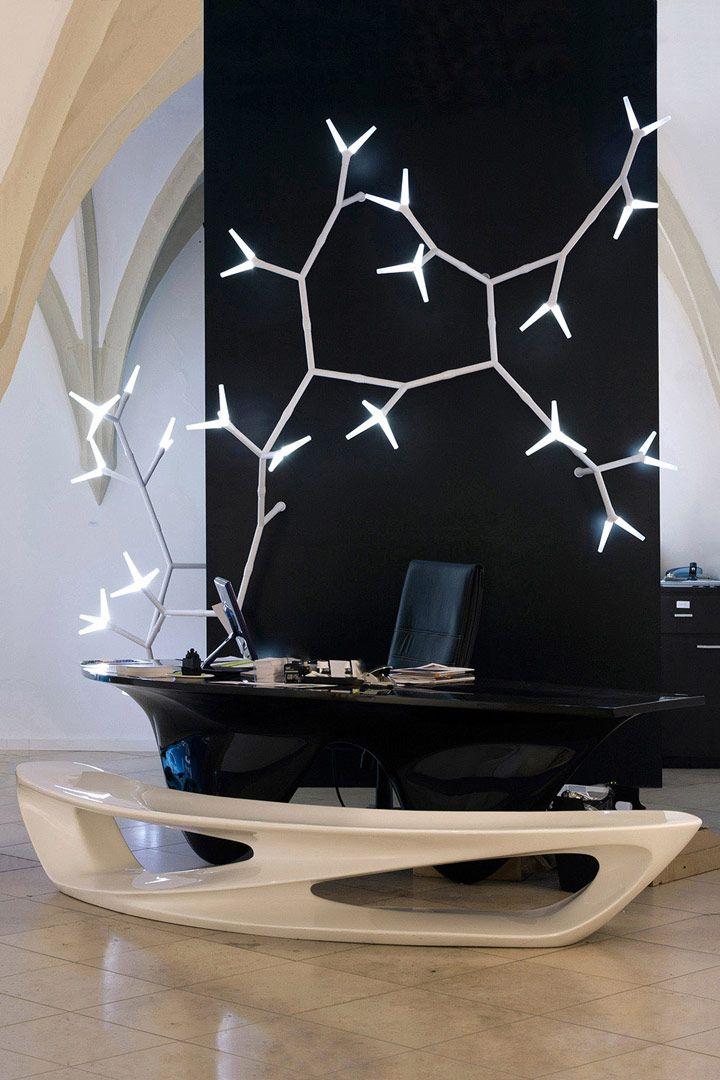 Sparks modular LED lighting system by Daniel Becker Design Studio ...