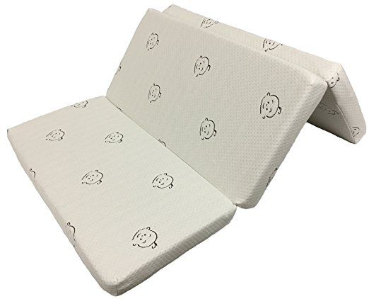 Folding Pack N Play Mattress By Sproutwise Kids Latex Core 25