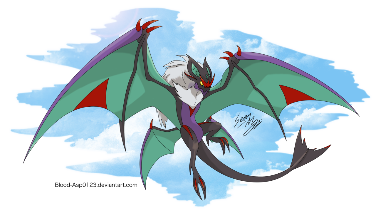Mega Noivern by Blood-Asp0123.deviantart.com on @DeviantArt
