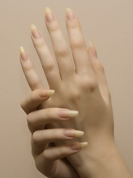 Pin by Alanne Dyer on Nails | Pinterest | Natural nails, Pedi and ...