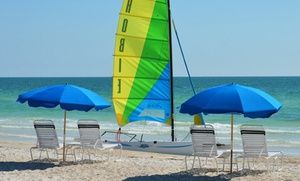 Stay at Silver Surf Gulf Beach Resort in Bradenton Beach, FL, with Dates into February