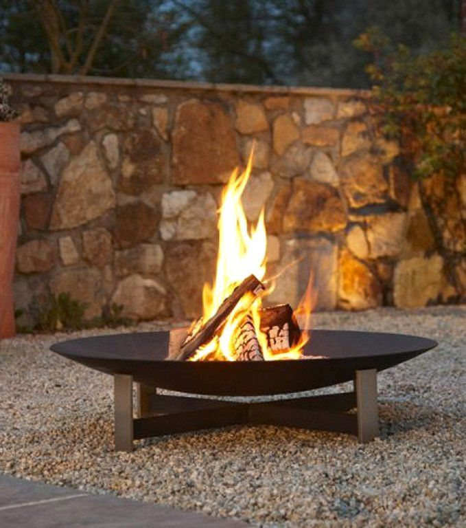 Feuerschale Karola Halwe Pinterest Feuerschale, Gartenideen - feuerschale im garten