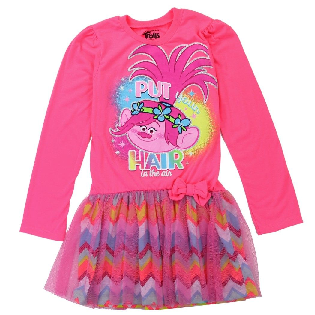 272d7c50f Pin by Kayla Eilers on Trolls | Toddler girl dresses, Toddler girl ...