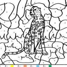 Tiger Color By Number Coloring Page In 2021 Coloring Pages Super Coloring Pages Christmas Coloring Pages