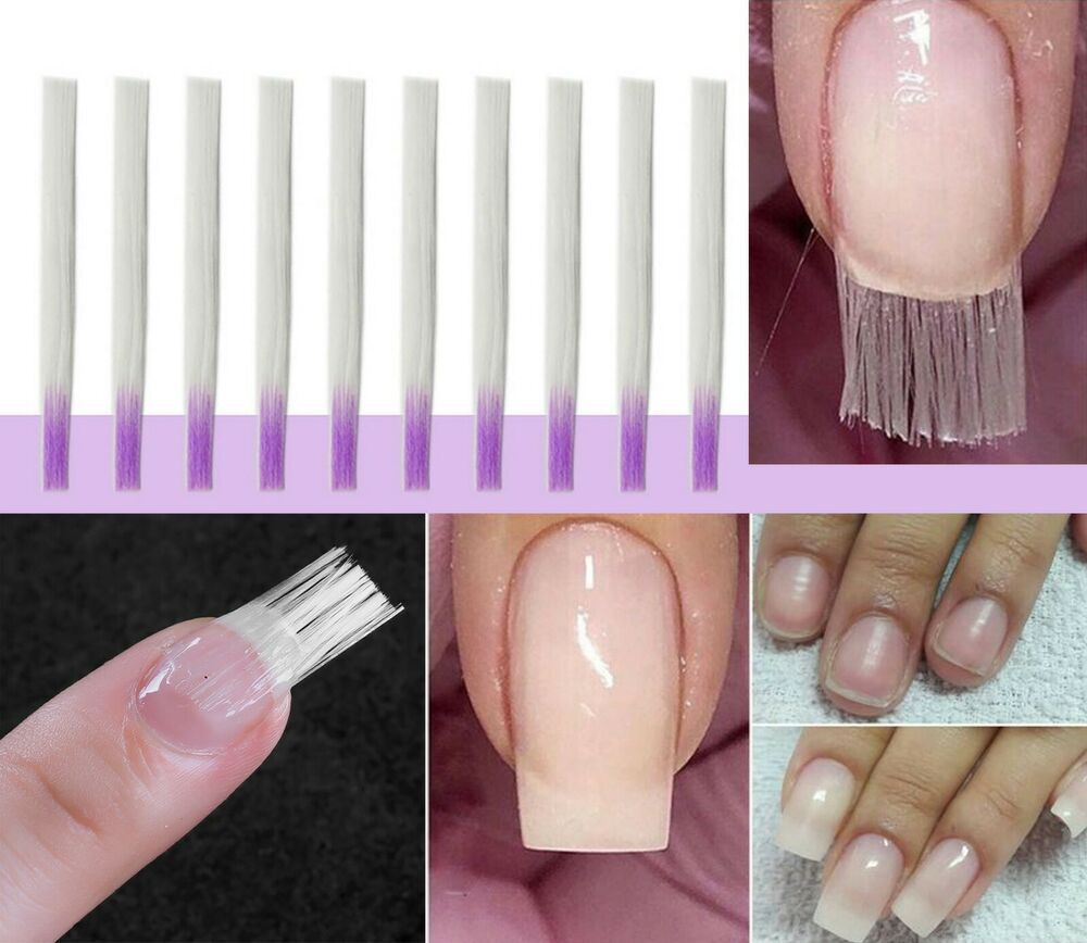 10 Pcs Fiber Nail Extension Fiberglass For Nail Extension Acrylic Nails Tips Makynail Nail Extensions Acrylic Fiberglass Nails Nail Extensions