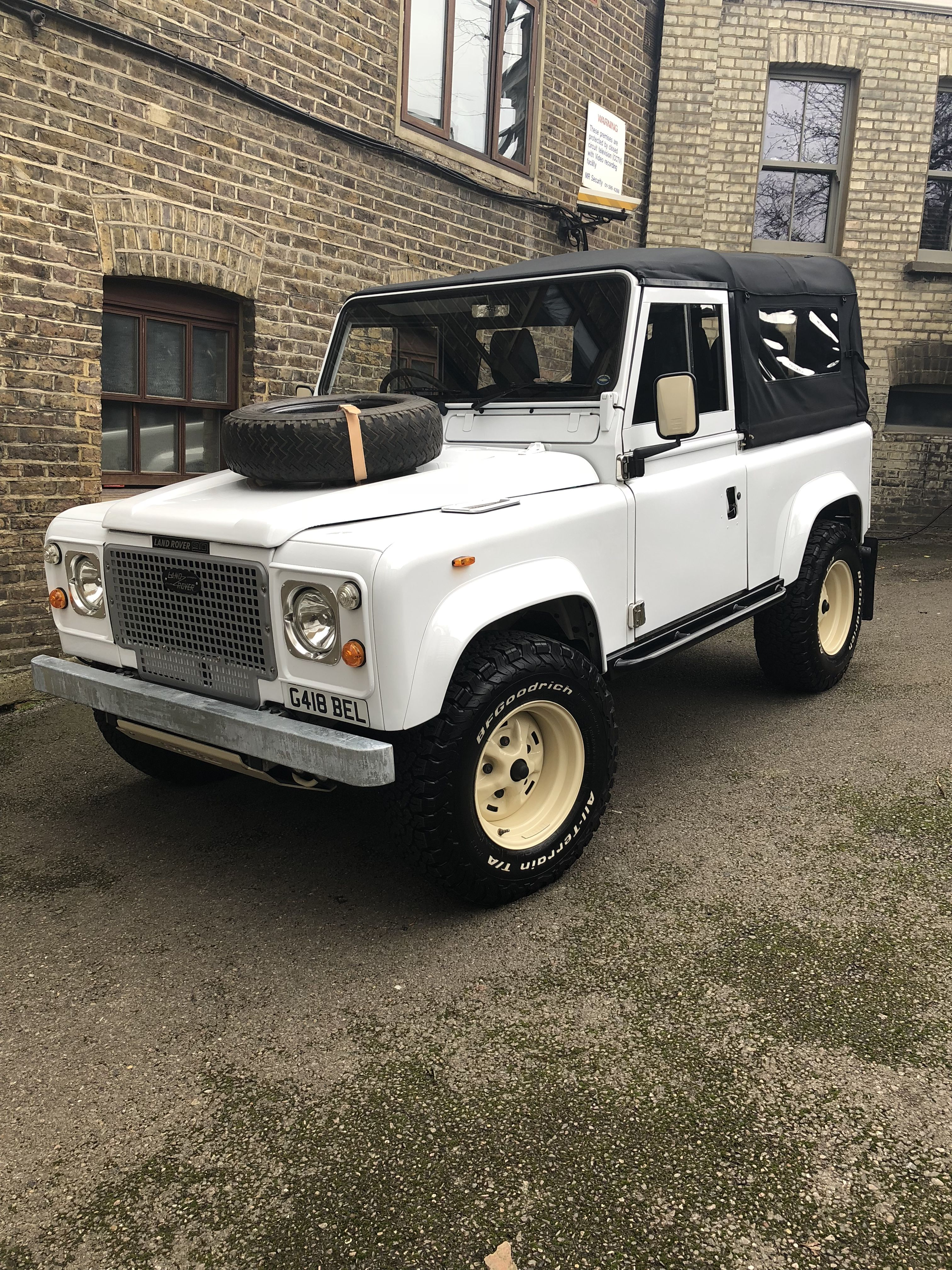 Land Rover Defender Retro Look Backdated Land Rover Land Rover