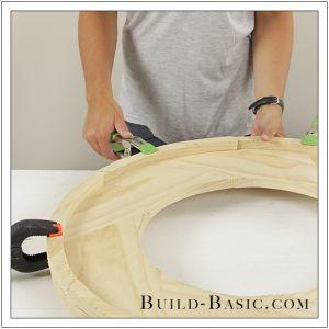Diy Round Mirror Frame By Build Basic Step 21 Vila Vilekula