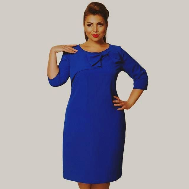 Elegant Plus Size Dress By Every Diva Boutique  916dd6e3a
