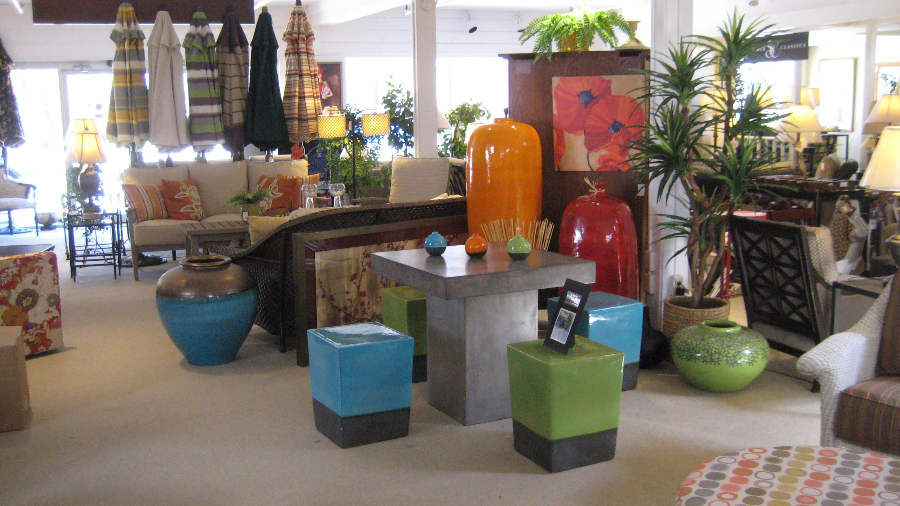 Seasonal Living Outdootr Furniture On Display At W. G. Arthurs Home  Furnishings In Orchard Park, NY