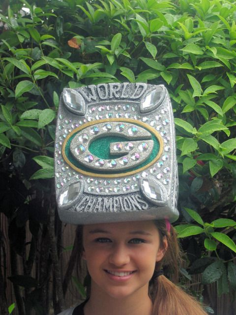 7245c9a16 Packers Super Bowl Ring Hat--I love this and want it more than anything