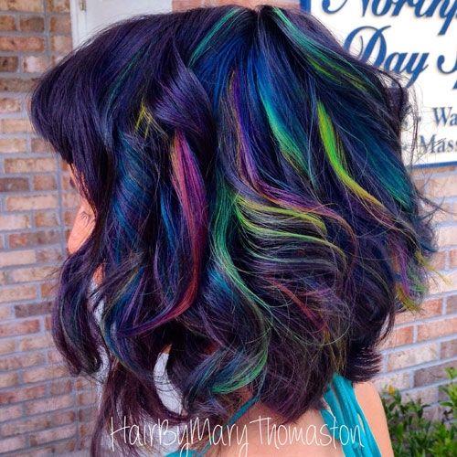 Hair Color How To Neon Rainbow By Mary Thomaston Beauty
