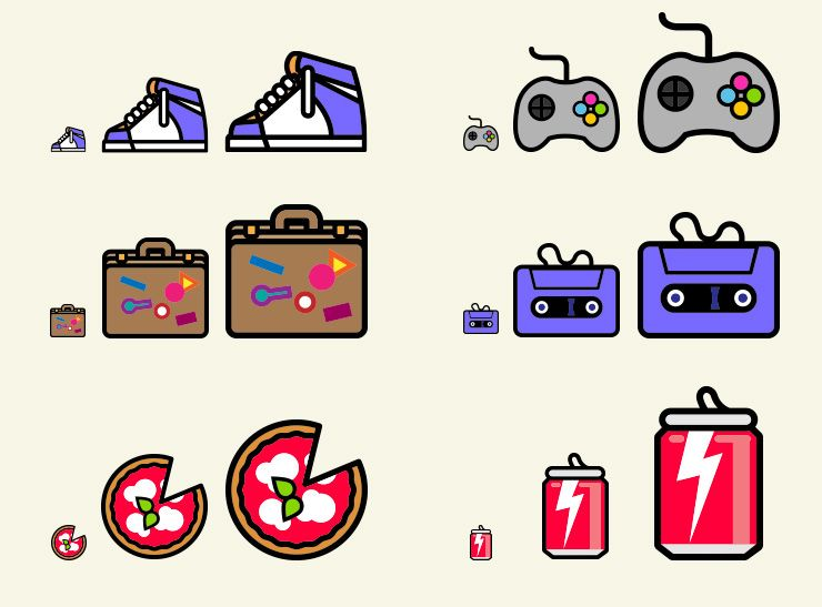 Pop icons essential pack (140 icons) + App on Behance | stitch ...