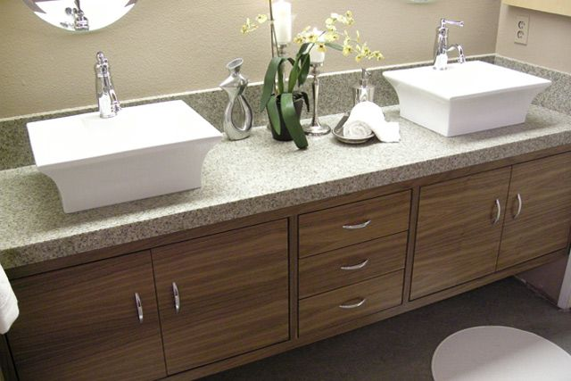 His And Her Sinks Ensuite Pinterest Sinks Granite Overlay And - His and hers bathroom sink