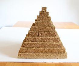 008 How to Make a Styrofoam Pyramid Pyramid school project