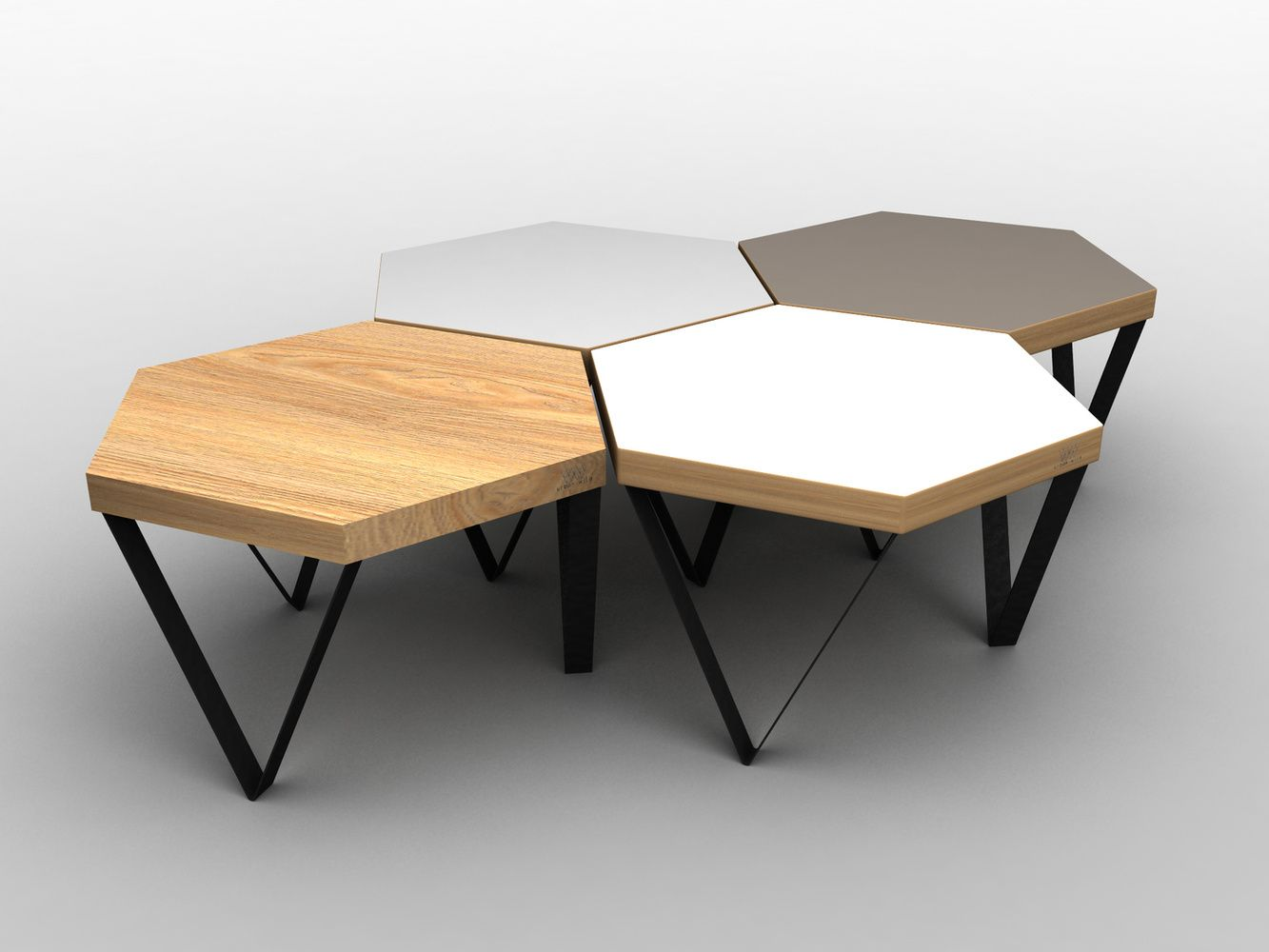 Designer Urban Wild Cool Side Tables That Come In Diif Shapes