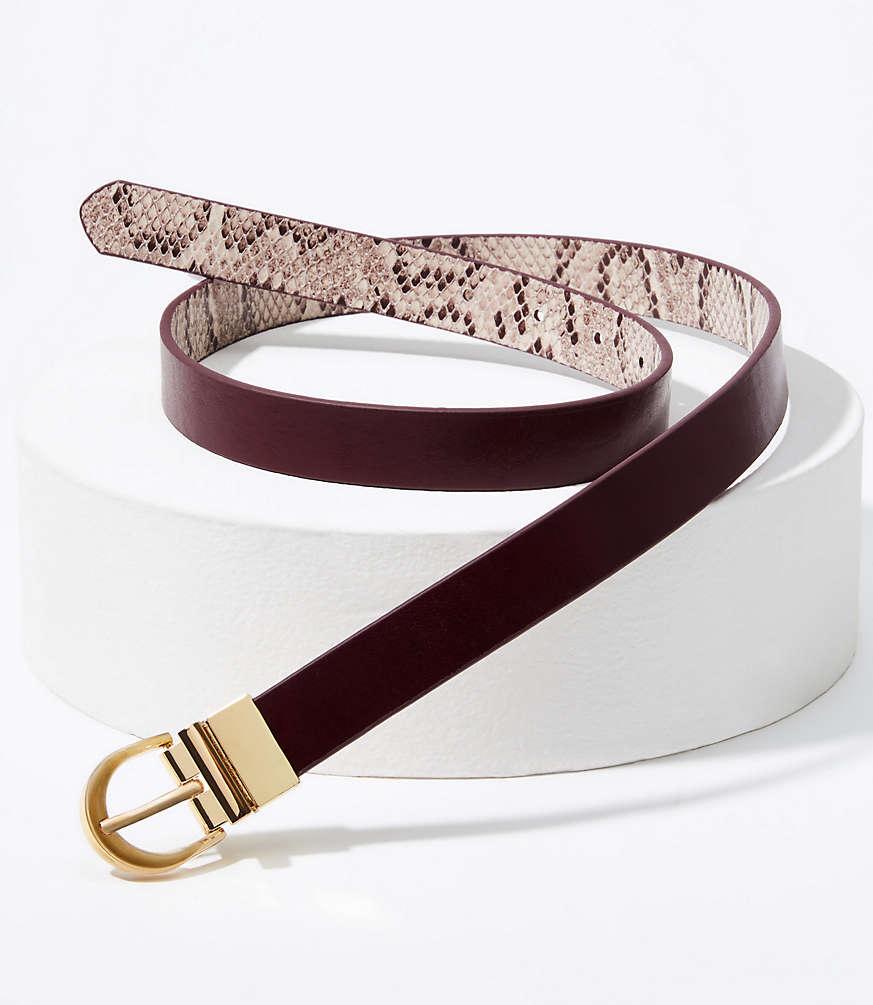 LOFT Reversible Belt #loftclothes