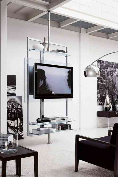 Meubles TV design pour un salon contemporain Tv wall mount, Tv