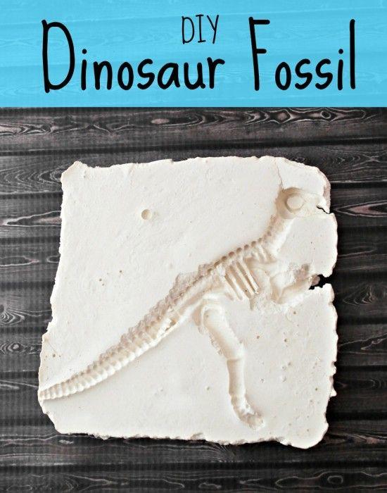 DIY Dinosaur Fossils (an easy and fun kid's craft)
