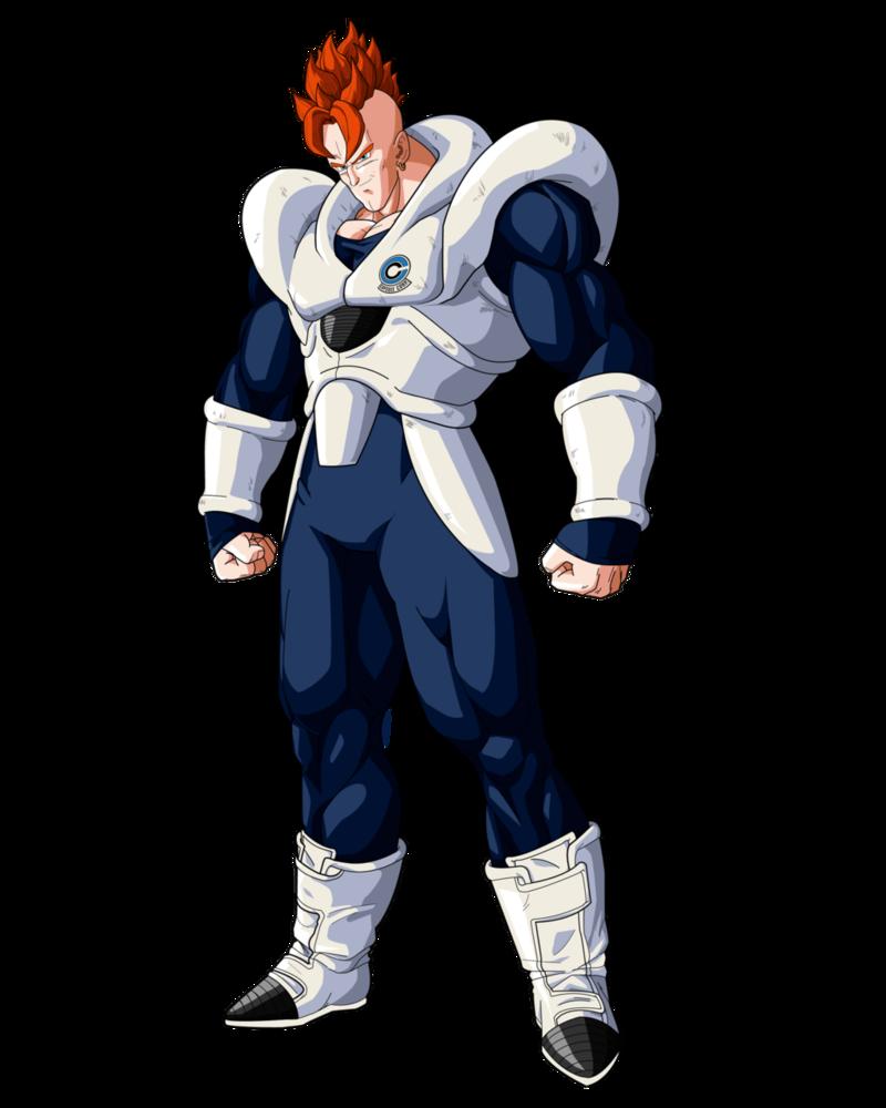 Android 16 3 0 By Ruga Rell Dragon Ball Art Dragon Ball Artwork Dragon Ball Super Manga