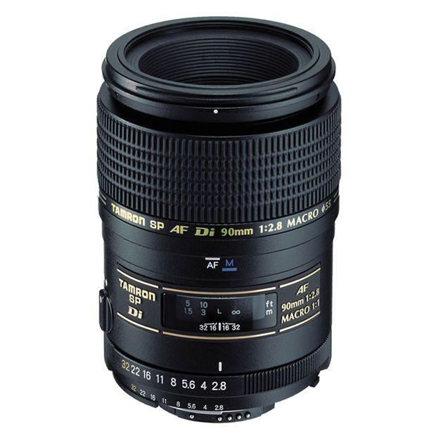 Tamron 90mm Macro f/2.8 Di lens for full frame and cropped sensor ...