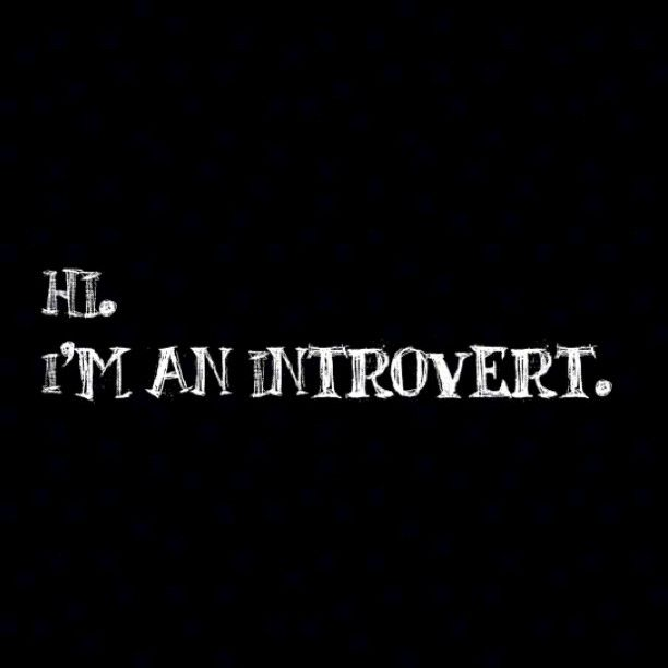 stdemonz:  Introvert.  Can someone with photoshop skills make one of these for an extrovert?