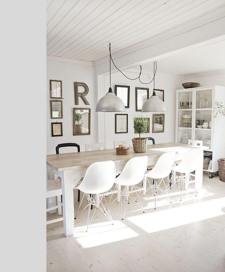 15 prachtige landelijke eetkamers interieur inspiratie makeovernl eetkamer muur decor