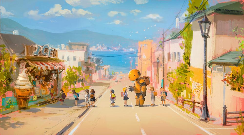 Artstation Summer J C Park Anime Scenery Wallpaper Artwork